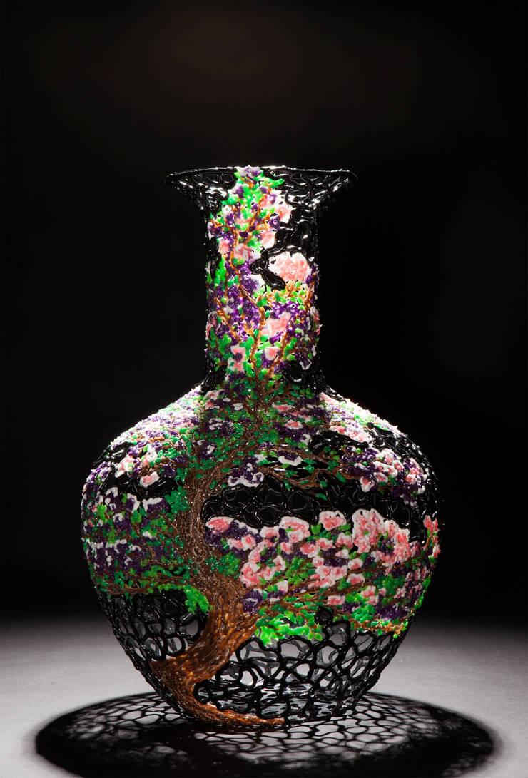 Blossom Trompet 50cm:  Kunst  door Studio Sebastiaan Straatsma