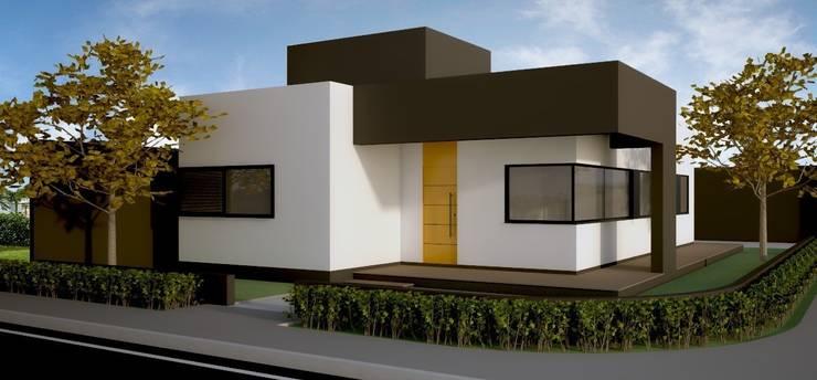 RESIDENCIA LP: Casas modernas por Impelizieri Arquitetura