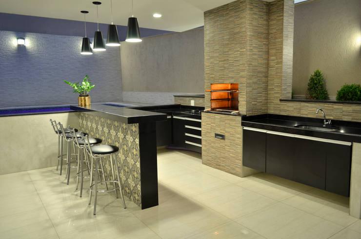 Cocinas de estilo  por Impelizieri Arquitetura