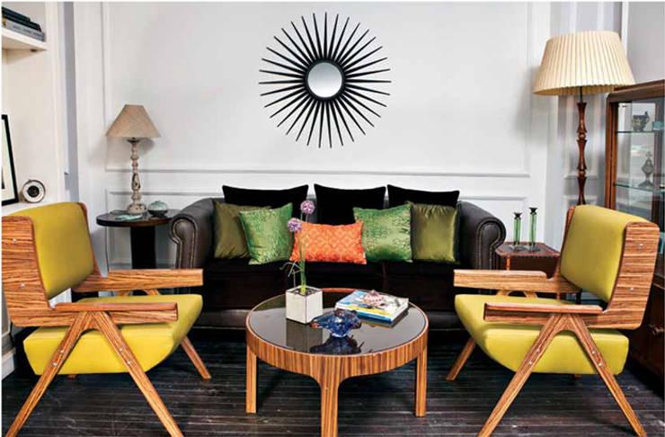 Aykuthall Architectural Interiors – Terasa Açılan Salon Yeni Hali:  tarz