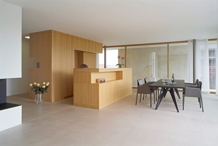 modern Dining room by Rossetti+Wyss Architekten