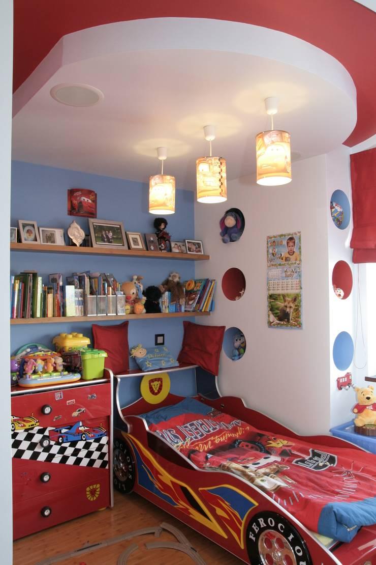 Przegląd przykładowych realizacji: styl , w kategorii Pokój dziecięcy zaprojektowany przez Art&Design Studio Projektowe Kinga Śliwa