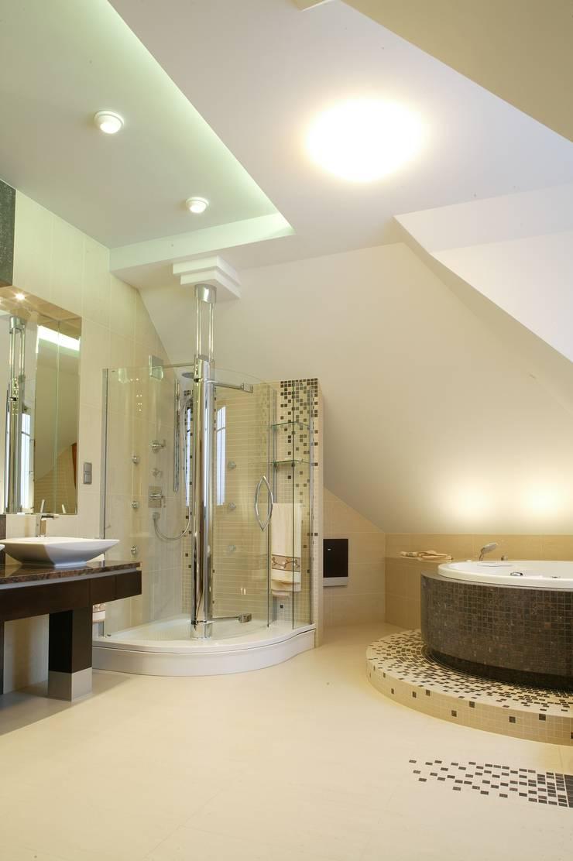Przegląd przykładowych realizacji: styl , w kategorii Łazienka zaprojektowany przez Art&Design Studio Projektowe Kinga Śliwa