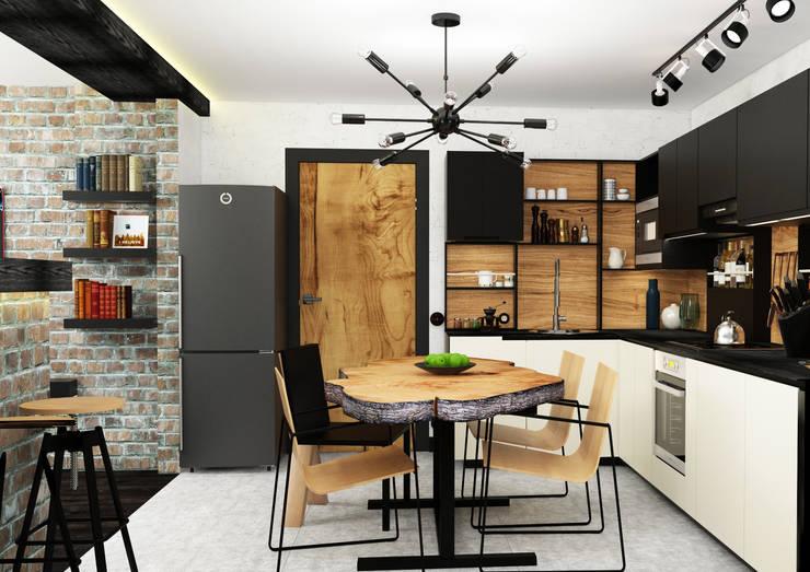AbcDesign: endüstriyel tarz tarz Mutfak