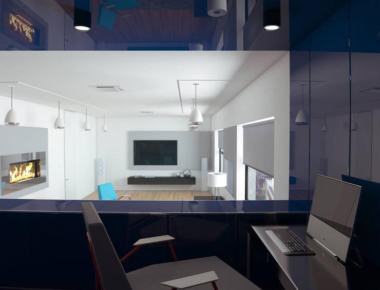 ultra modern: Гостиная в . Автор – Nox