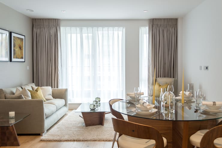 Living /Dining room : modern Living room by In:Style Direct