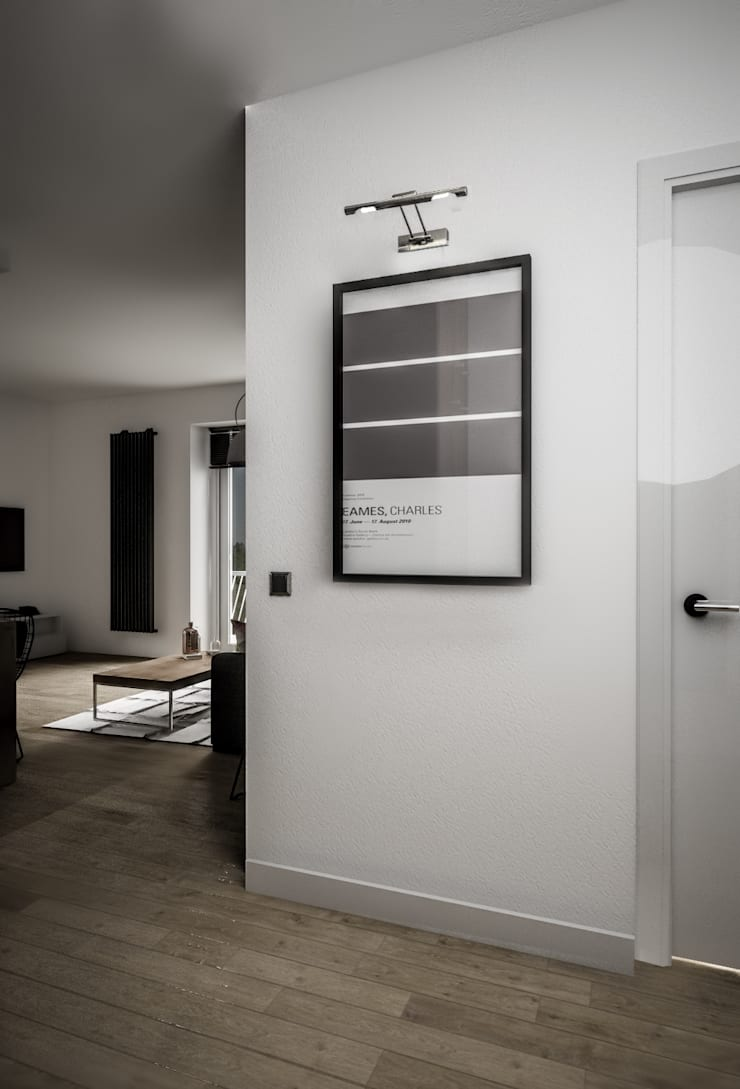 KAMION CROSS: styl , w kategorii Korytarz, przedpokój zaprojektowany przez Wiktoria Ginter - architektura wnętrz