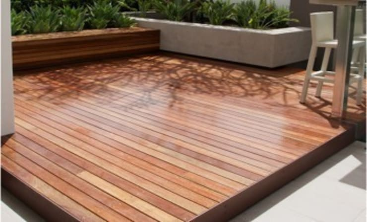 Wood Garden – Wood Garden:  tarz Bahçe