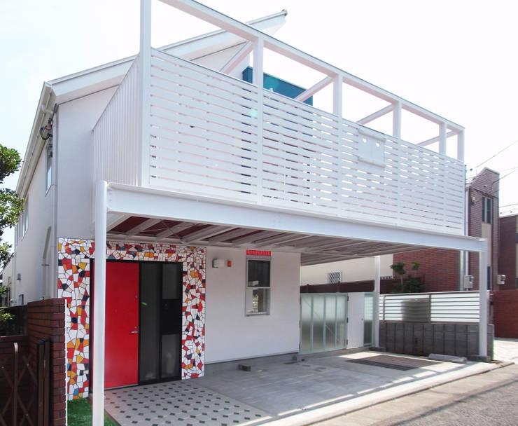 บ้านและที่อยู่อาศัย by ユミラ建築設計室