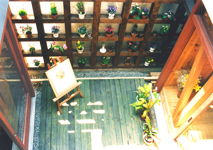 Terrace by ユミラ建築設計室