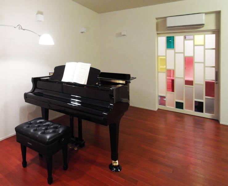 音楽家の家「Casa Felice」: ユミラ建築設計室が手掛けた和室です。
