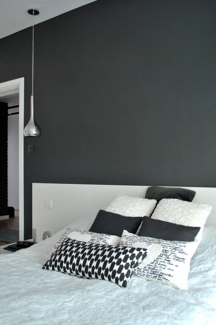 KROPLE KOLORU: styl , w kategorii Sypialnia zaprojektowany przez IMPAST