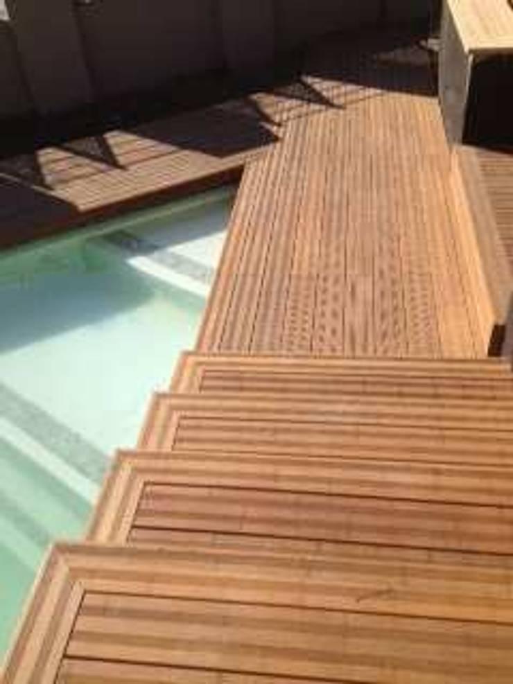 Terrassendielen aus Bambus * ökologisch * elegant ...