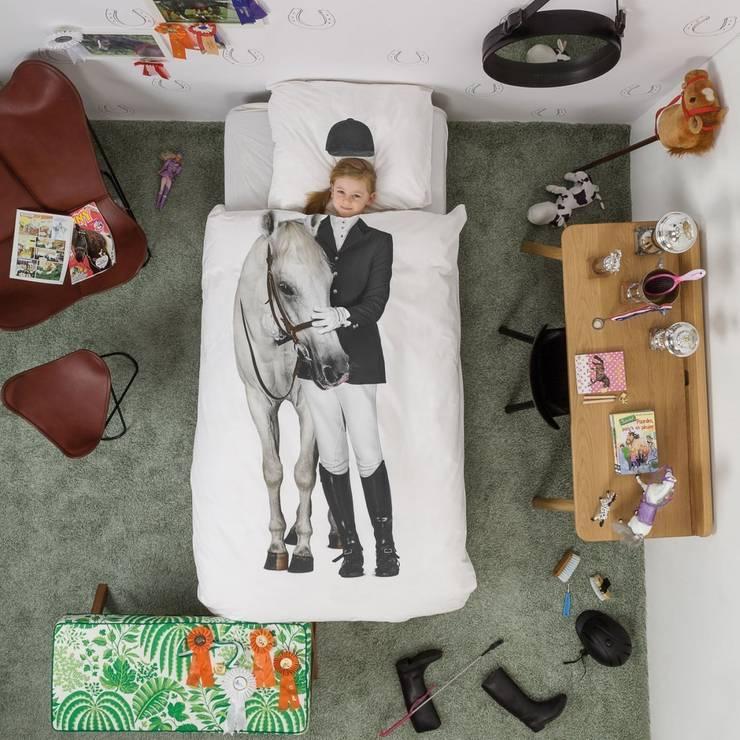Kocham konie!: styl , w kategorii Pokój dziecięcy zaprojektowany przez lifestory :: życie jest piękne