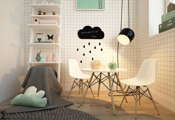 Dormitorios infantiles de estilo escandinavo de homify