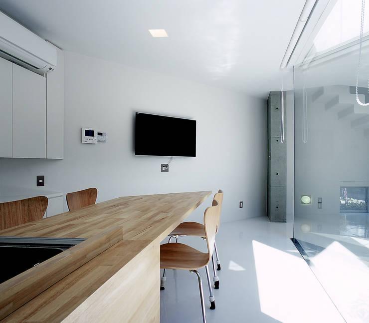 宇宿の住宅: アトリエ環 建築設計事務所が手掛けたダイニングです。