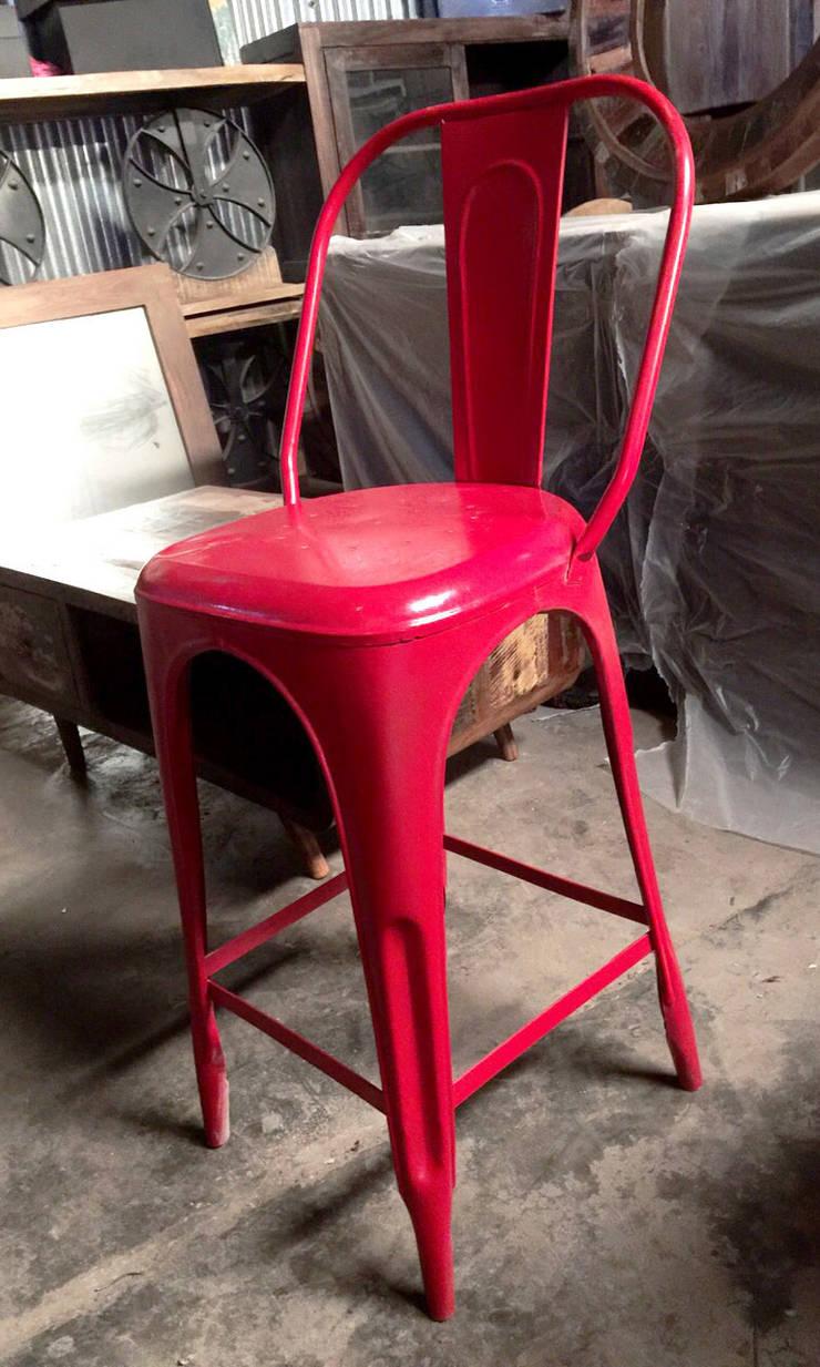 Iron Bar Chair:  Bars & clubs by ALPA CORP