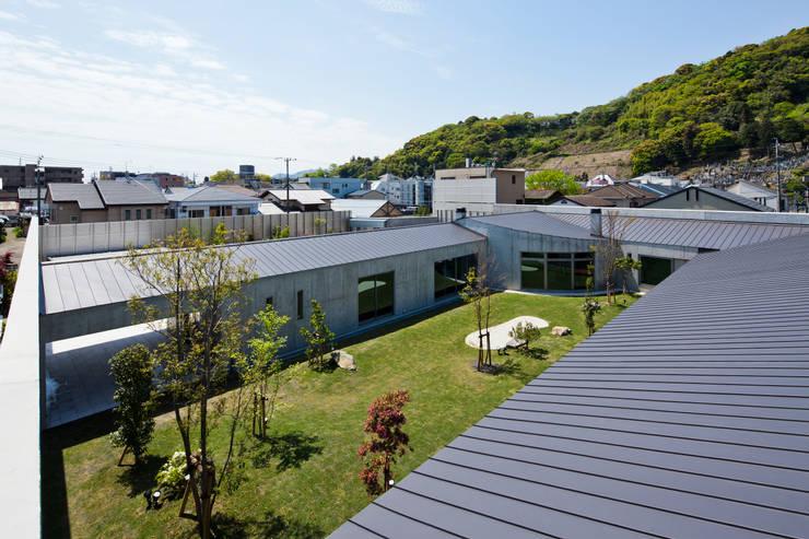 鳥瞰: 依田英和建築設計舎が手掛けた家です。