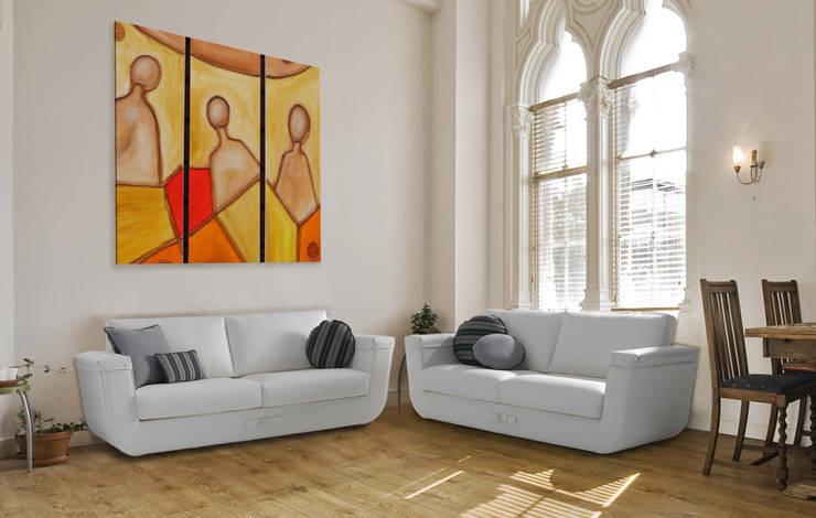 Мягкая мебель: Гостиная в . Автор – Немецкие кухни
