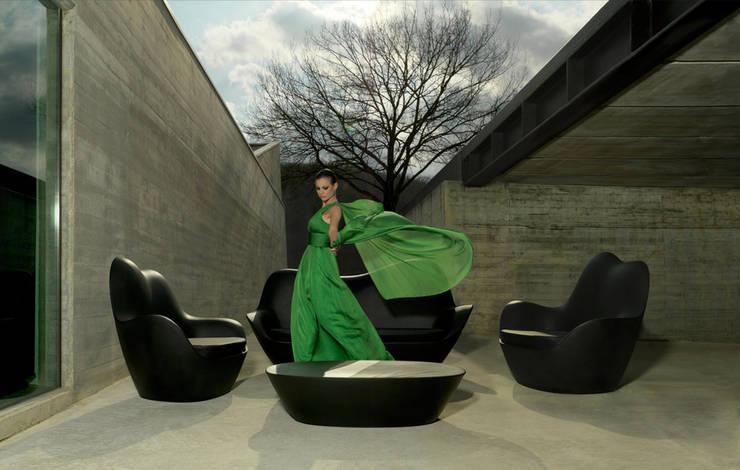 Уличная мебель: Балкон, веранда и терраса в . Автор – Немецкие кухни