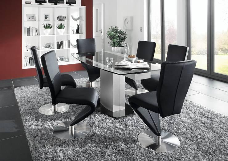 Современная мебель (столовые группы): Гостиная в . Автор – Немецкие кухни