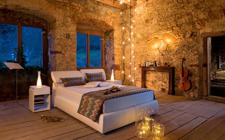 Спальни: Спальная комната  в . Автор – Немецкие кухни