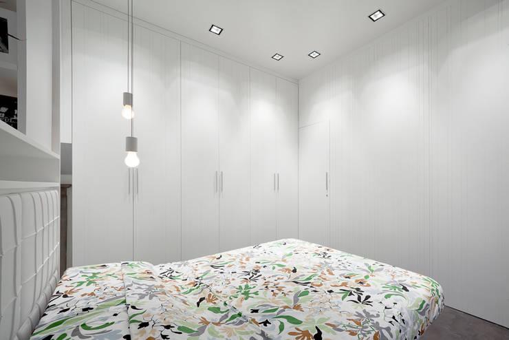 Спальни в . Автор – 23bassi studio di architettura