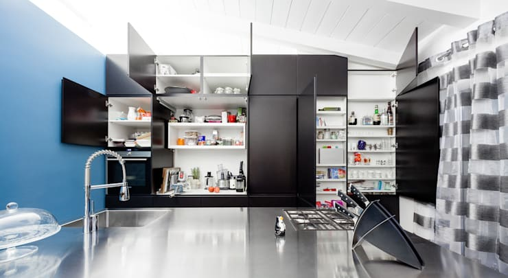 23bassi studio di architettura: minimal tarz tarz Mutfak