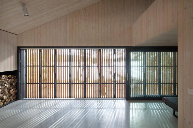 modern Living room by FAM Architekti