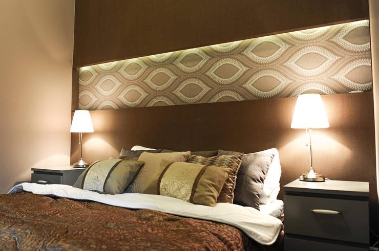 Apartament Novum: styl , w kategorii Sypialnia zaprojektowany przez AgiDesign,Klasyczny