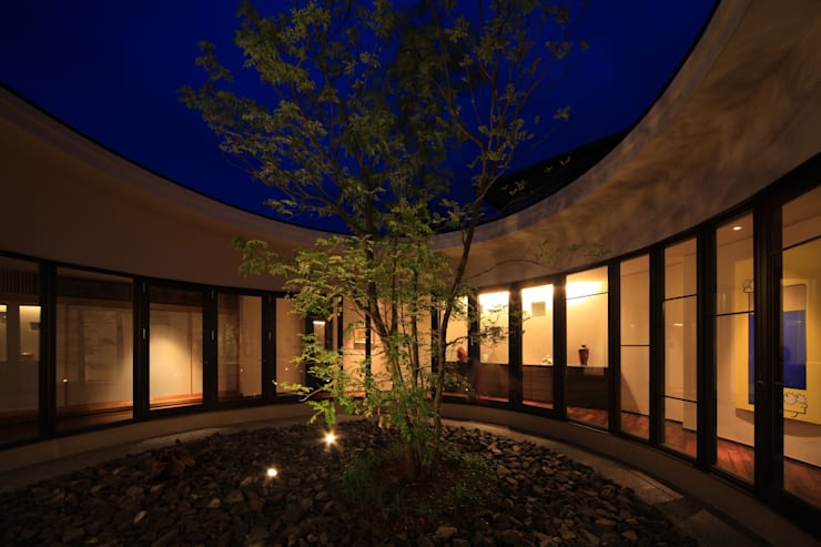ギャラリースペース: MA設計室が手掛けた庭です。