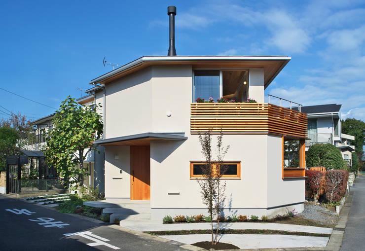 アトリエのある小さな家 オリジナルな 家 の かんばら設計室 オリジナル