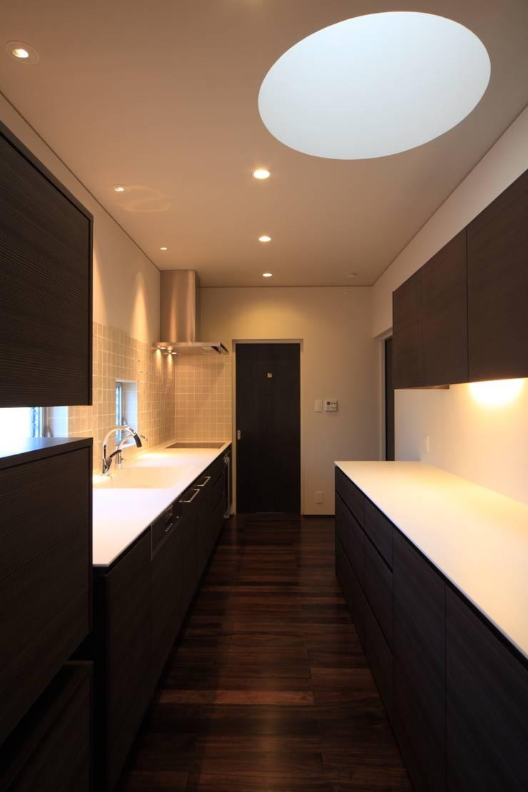 キッチン: MA設計室が手掛けたキッチンです。