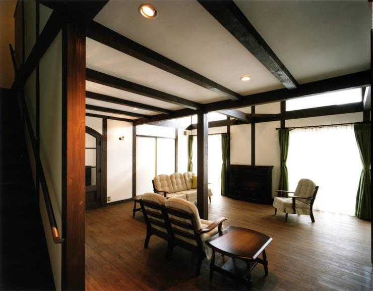 中間建築設計工房/NAKAMA ATELIER의  거실