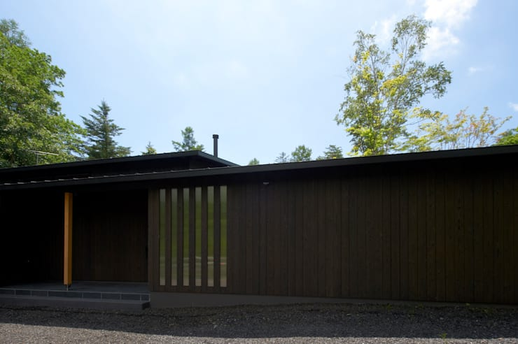 The outside appearance : ARCHI-FACTORY architects officeが手掛けた家です。