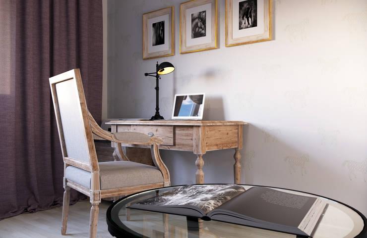 Studio in stile In stile Country di Krupp Interiors