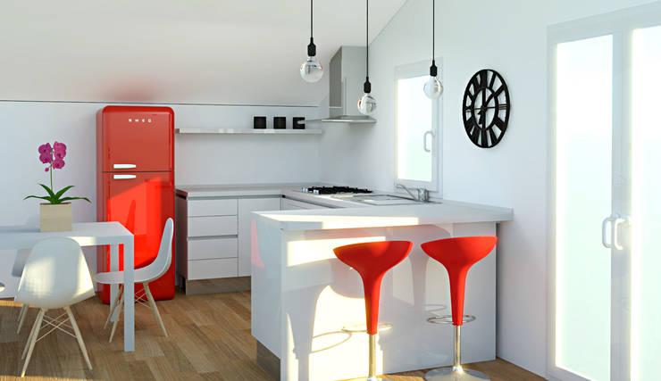 Cozinhas modernas por OGARREDO