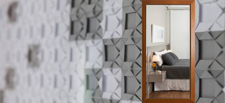 Dormitório Casal: Quartos  por AND Arquitetura