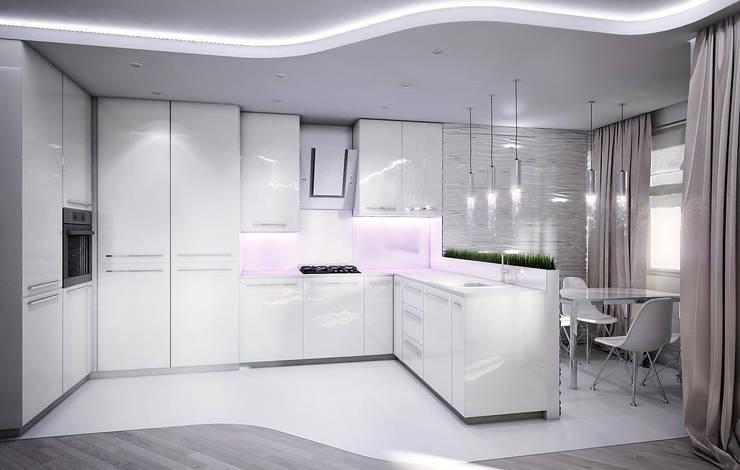 Квартира в Кунцево: Кухни в . Автор – AFTER SPACE