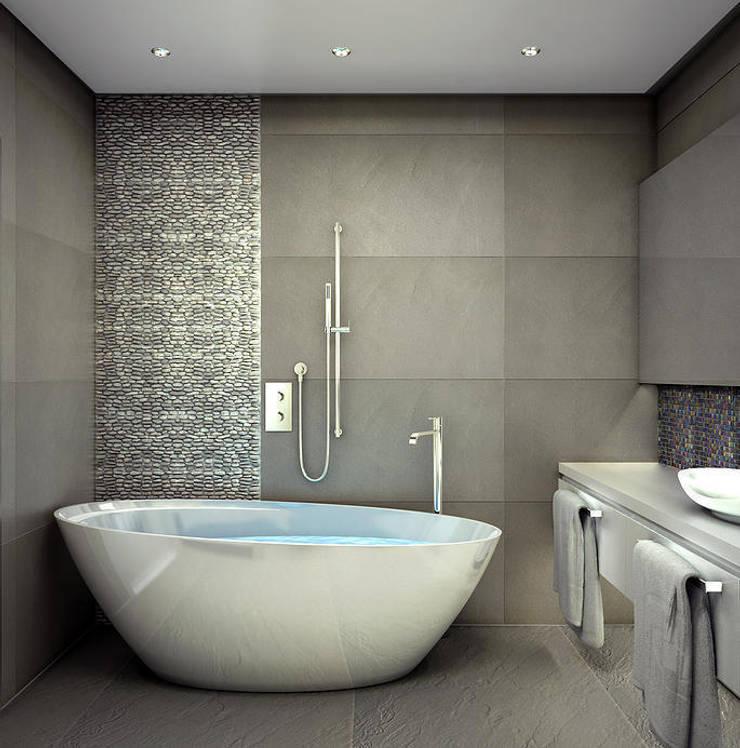 Квартира в Кунцево: Ванные комнаты в . Автор – AFTER SPACE