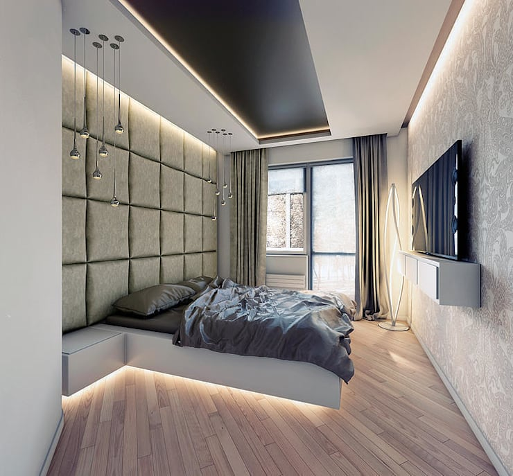 Квартира в Кунцево: Спальни в . Автор – AFTER SPACE