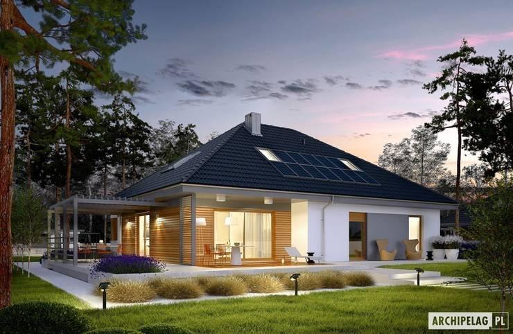 Maisons de style  par Pracownia Projektowa ARCHIPELAG