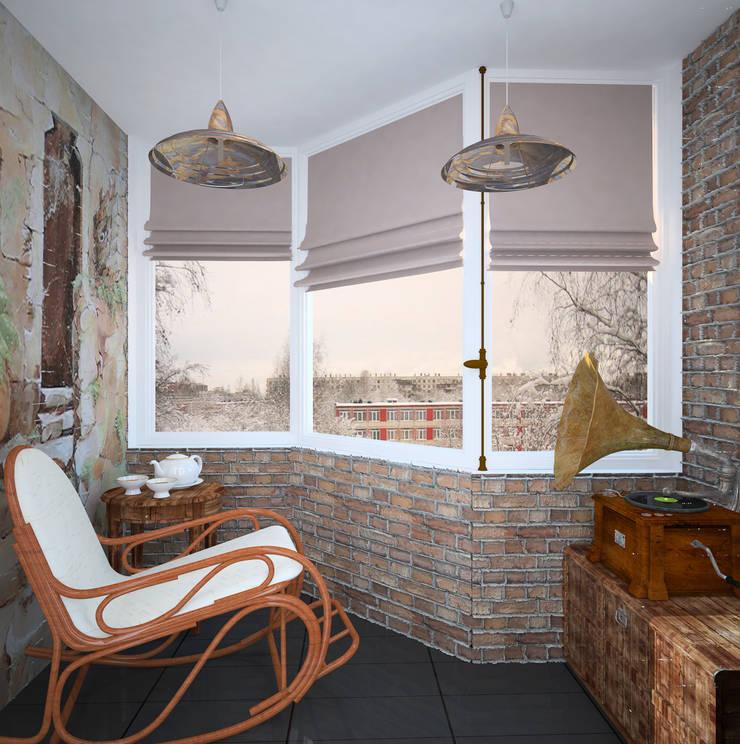 Балкон: Tерраса в . Автор – Krupp Interiors,