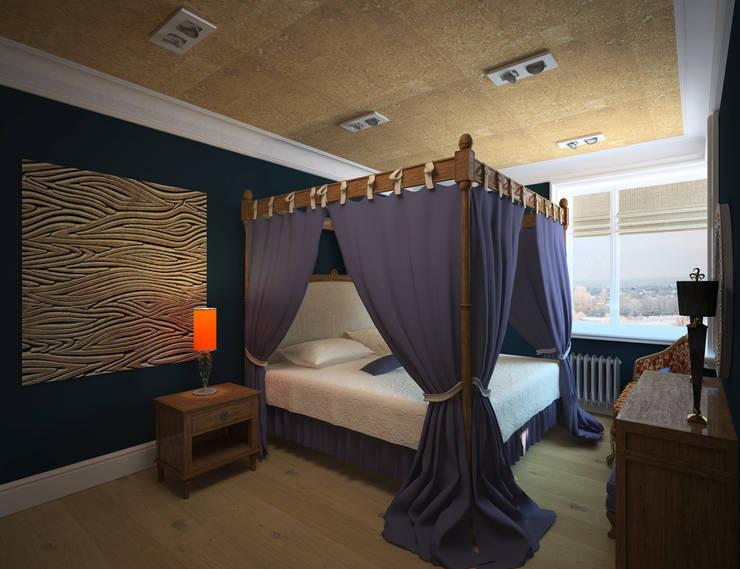 Спальня: Спальни в . Автор – Krupp Interiors