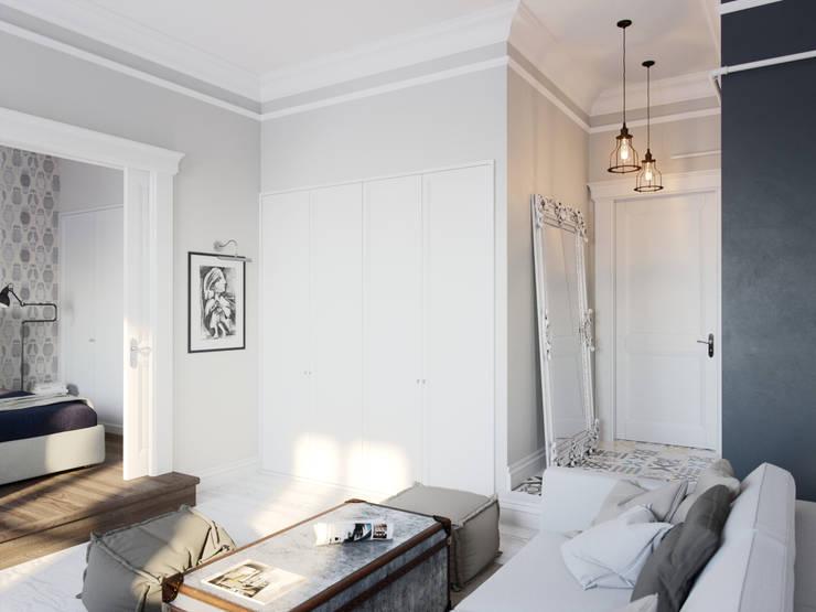 Living room by Aiya Design, Industrial