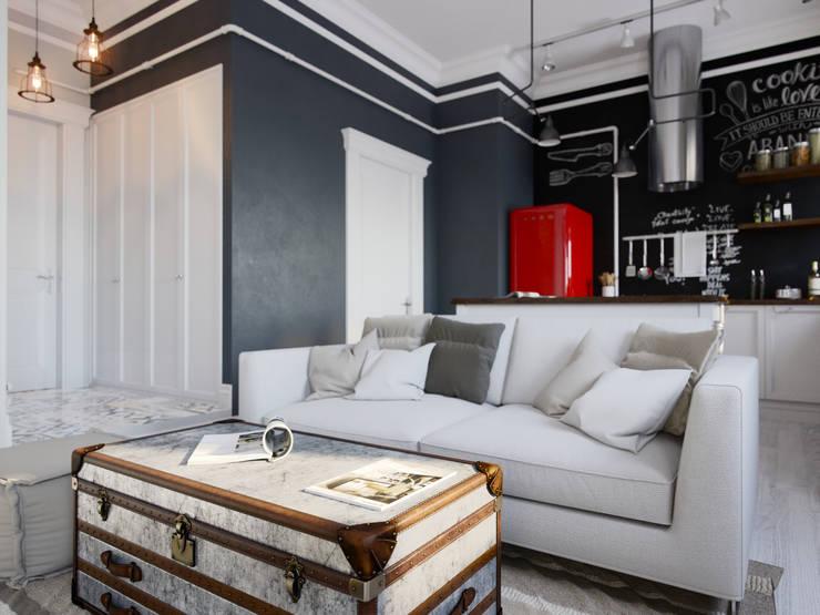 Kitchen by Aiya Design, Industrial