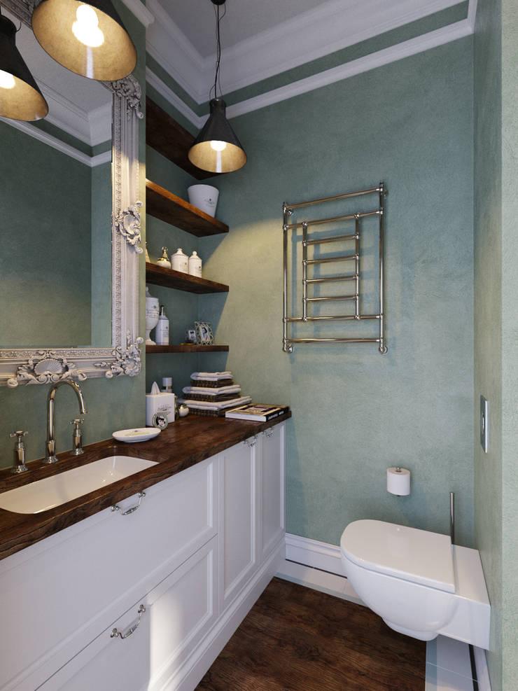 Bathroom by Aiya Design, Industrial