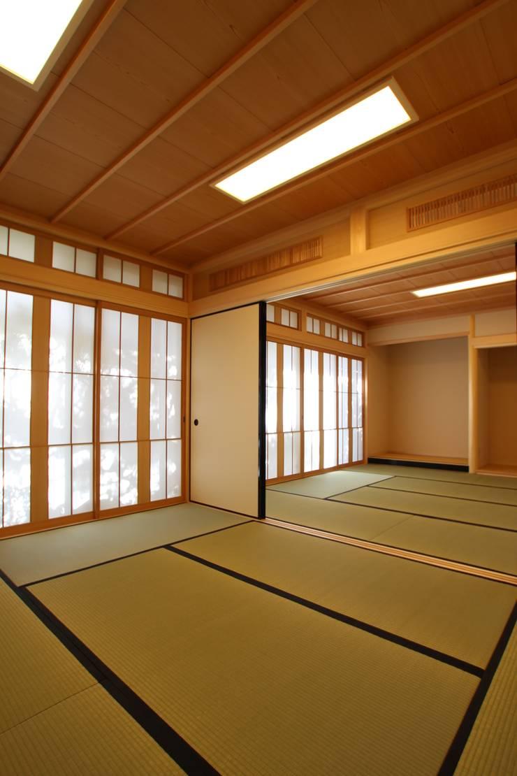 和室: ATS造家設計事務所が手掛けた和室です。