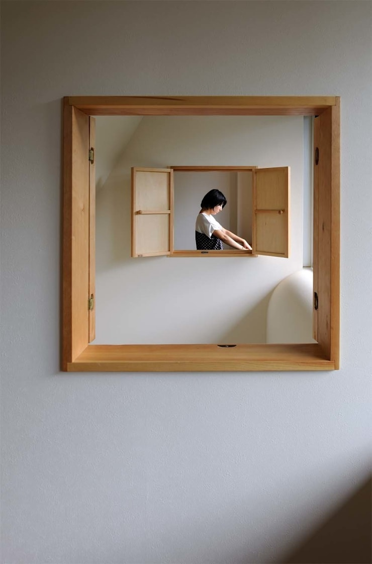 House just in front: Hiromu Nakanishi Architectsが手掛けた窓です。