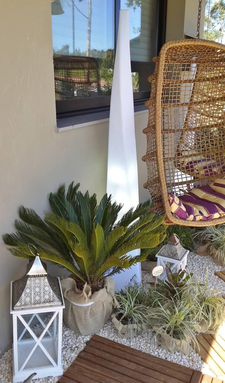 Jardim para lazer: Jardins tropicais por Ésse Arquitetura e Interiores